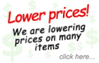 Lower prices...