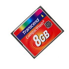 Transcend 133X 8GB compact flash CF memory card