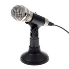 Hi-Fi dynamic microphone for PC (3.5mm jack, stereo)