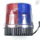 Red & blue xenon bulb strobe light with magnetic base (12V, cigarette lighter)