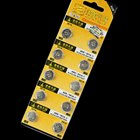 AG8 391A 1.55V cell button batteries (10 pack)