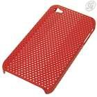 Protective back cover for iPhone 4 (red)