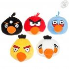 Angry Birds - Plush figurine with clip (5 pack, small)