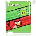 Angry Birds - Protective plastic shell for iPad 2 (green, Crown Pig & Red Bird)