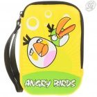 Angry Birds - Leatherette protection pouch (White & Green Birds)