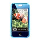 Crystal case for iPhone (translucent blue)