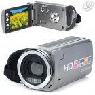 "720P HD 3MP Compact digital video camera w/ 4X digital zoom and 2.7"" TFT LCD (SD 8GB)"